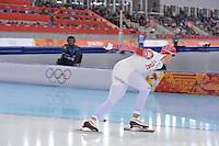 OLYMPICS: SOCHI: Adler Arena, 08-02-2014, 5000 m Men, Denis Yuskov (RUS), ©photo Martin de Jong