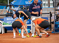 Amstelveen, Netherlands, 1 August 2020, NTC, National Tennis Center, National Tennis Championships, Men's Doubles final: New Balls<br /> Photo: Henk Koster/tennisimages.com