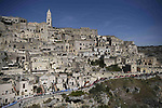 The stunning city of Matera, third oldest inhabited city in the world, sign on for the start of Stage 7 of the 103rd edition of the Giro d'Italia 2020 running 143km from Matera to Brindisi, Sicily, Italy. 9th October 2020.  <br /> Picture: LaPresse/Marco Alpozzi | Cyclefile<br /> <br /> All photos usage must carry mandatory copyright credit (© Cyclefile | LaPresse/Marco Alpozzi)