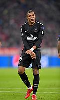 05.12.2017, Football UEFA Champions League 2017/2018,  , 6. match day, FC Bayern Muenchen - Paris Saint Germain, in Allianz-Arena Muenchen,  Kylian Mbappe (Paris) dejected. *** Local Caption *** © pixathlon<br /> <br /> +++ NED + SUI out !!! +++<br /> Contact: +49-40-22 63 02 60 , info@pixathlon.de