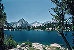 Refreshing lake up in the Californis High Sierras