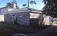 Old Monterrey Jail, constructed 1854.