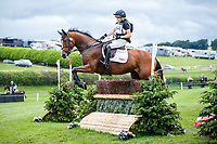 GBR-Charlotte Bacon rides Well Foxed during the Cross Country for the CCI4*-S. 2021 GBR-Barbury International Horse Trials. Wiltshire. Great Britain. Saturday 10 July. Copyright Photo: Libby Law Photography