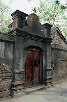 China, Hutong in Peking