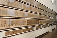 ITALIA - Torino - Museo Egizio  Il libro dei Morti - papiro