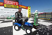 James Hinchcliffe, Schmidt Peterson Motorsports Honda, podium, tractor