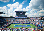 View of Center Court during the men's final at the Western & Southern Open in Mason, OH on August 19, 2012.