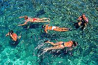 Mergulho em Pirangi, Rio Grande do Norte. 1997. Foto de Juca Martins.