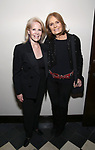 """Daryl Roth and Gloria Steinem attend the Opening Night Performance After Party for """"Gloria: A Life"""" on October 18, 2018 at the Gramercy Park Hotel in New York City."""