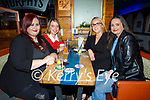 Enjoying the evening in Sean Og's on Friday, l to r: Cheyenne O'Reilly, Michelle Lynch, Emily McCarthy and Christina Sugrue (All Tralee).