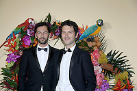 Duo musical AaRON : Simon BURET - Olivier COURSIER - Gala d'ouverture de l'Opera de Paris - 24 septembre 2016 - Opera Garnier Paris - France