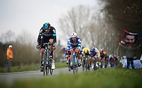 Gianni Mosconi (ITA/SKY) leading the way<br /> <br /> 71st Nokere Koerse
