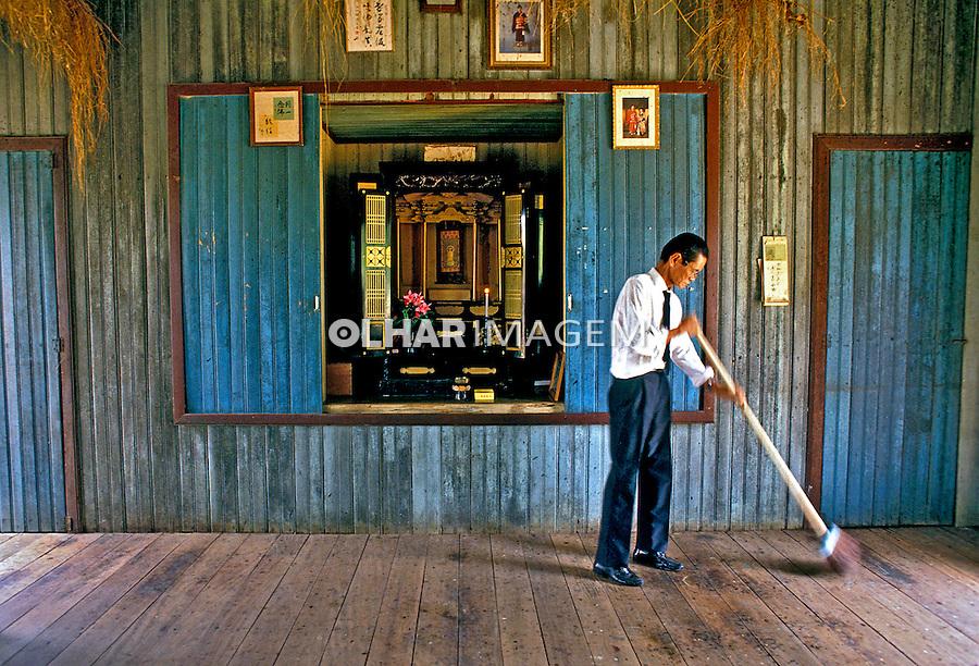 Colonos japoneses na Amazônia, Amazonas. 1998. Foto de Ricardo Azoury.