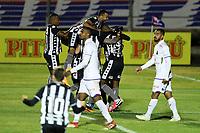 26th August 2020; Estadio Vila Capanema, Curitiba, Brazil; Copa Do Brasil, Parana Clube versus Botafogo; Players of Botafogo celebrate their goal scored by Kanu in the 49th minute for  0-1