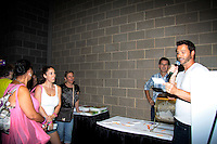 "Days of Our Lives Eric Martsolf ""Brady Black"" appears at the 12th Annual Comcast Women's Expo on September 7 (also 6th), 2014 at the Connecticut Convention Center, Hartford, CT announced raffle winners. (Photo by Sue Coflin/Max Photos)"