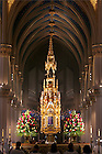 Mass in the Basilica of the Sacred Heart<br /> <br /> Photo by Matt Cashore