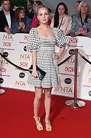 Eden Taylor-Draper<br /> arriving for the National Television Awards 2021, O2 Arena, London<br /> <br /> ©Ash Knotek  D3572  09/09/2021