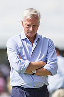 Alan Pardew (Manager) of Crystal Palace looking dejected during the Friendly match between Barnet and Crystal Palace at The Hive, London, England on 11 July 2015. Photo by David Horn.