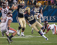 Pitt wide receiver Tyler Boyd (23).  The Pitt Panthers defeated the Virginia Tech Hokies 21-16 at Heinz Field, Pittsburgh Pennsylvania on October 16, 2014