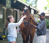 Tuesday at the Fasig Tipton sales grounds