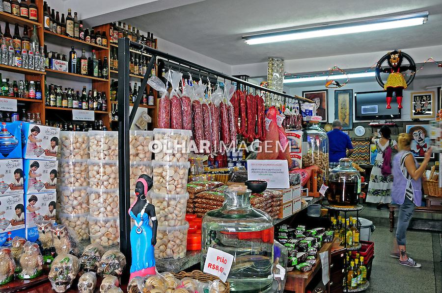 Emporio de produtos regionais em Joanopolis. Sao Paulo. 2014. Foto de Marcia Minillo.