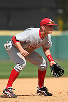 Florida Southern Mike Snyder #29 during a exhibition game vs. the Detroit Tigers at Joker Marchant Stadium in Lakeland, Florida;  February 25, 2011.  Detroit defeated Florida Southern 17-5.  Photo By Mike Janes/Four Seam Images