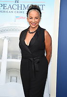 """WEST HOLLYWOOD - SEPT 1: Rae Dawn Chong attends a red carpet event for FX's """"Impeachment: American Crime Story"""" at Pacific Design Center on September 1, 2021 in West Hollywood, California. (Photo by Frank Micelotta/FX/PictureGroup)"""