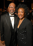 """Win Frazier and his wife Dr. Johnnie Frazier at  the """"Wrecking Ball"""" at the Houston Museum of Natural Science Saturday  March 07, 2009. (Dave Rossman/For the Chronicle)"""