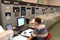 - AEM (Energetic Company of Milan), electric receiver power station of Milan South, control room....- AEM (Azienda Energetica Milanese), centrale elettrica ricevitrice di  Milano Sud, sala di controllo..