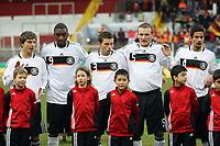 Kevin Wolze, Richard Sukuta-Pasu, Jonas STrifler, Konstantin Rausch, Nils Texeira (alle D)<br /> Deutschland vs. Finnland, U19-Junioren<br /> *** Local Caption *** Foto ist honorarpflichtig! zzgl. gesetzl. MwSt. Auf Anfrage in hoeherer Qualitaet/Aufloesung. Belegexemplar an: Marc Schueler, Am Ziegelfalltor 4, 64625 Bensheim, Tel. +49 (0) 151 11 65 49 88, www.gameday-mediaservices.de. Email: marc.schueler@gameday-mediaservices.de, Bankverbindung: Volksbank Bergstrasse, Kto.: 151297, BLZ: 50960101