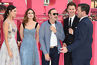 """Eiza Gonzalez, Lily James, Kevin Spacey, Ansel Elgort and John Hamm<br /> at the """"Baby Driver"""" premiere, Cineworld Empire Leicester Square, London. <br /> <br /> <br /> ©Ash Knotek  D3285  21/06/2017"""