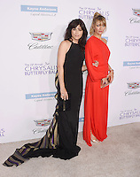 BRENTWOOD, CA - JUNE 11: Actresses Selma Blair and Rebecca Gayheart-Dane arrive at the 15th Annual Chrysalis Butterfly Ball at a private residence on June 11, 2016 in Brentwood, California.