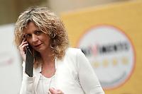 Barbara Lezzi<br /> Roma 29/01/2018. Presentazione dei candidati nelle liste uninominali del Movimento 5 Stelle.<br /> Rome January 29th 2018. Presentation of the candidates for Movement 5 Stars.<br /> Foto Samantha Zucchi Insidefoto