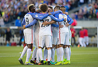 Seattle, WA - June 16, 2016: The USMNT go on to defeat Ecuador 2-1 in Quarterfinal play during a Copa America Centenario 2016 match at CenturyLink Field.