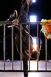 CHRONIQUES DU PERIMETRE..Création 2011..Direction artistique et chorégraphe : Christine Coudun..Assistants : Laurent Kong a Siou, Lowriz Vo..Recherche et montage musical : Lowriz Vo..Costumes : Lowriz Vo..Durée : 70'..Danseurs : Manuela Bolegue, Adilson Horta de Sousa, François Kaleka, Laurent Kong a Siou, Alfreda Nabo, Mathieu Raguel, Julian Rouyre, Emilie Schram, Saym Sithiphone, Lowriz Vo..Compagnie : Black Blanc Beur..Cadre : festival VIF..Lieu : Collectif 12 / Friche Andre Malraux..Ville : Mantes la Jolie..le 10/01/2012..© Laurent Paillier / photosdedanse.com..All rights reserved