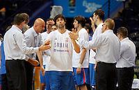 Milos Teodosic, during round 2, group E, basketball game between Spain and Serbia in Vilnius, Lithuania, Eurobasket 2011, Friday, September 9, 2011. (photo: Pedja Milosavljevic)