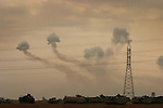 White phosphorus rains down Fallujah during the artillery bombardment that opened the fighting during the Nov. 2004 assault on Fallujah.
