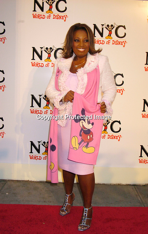 Star Jones ..at the World of Disney Store opening on October 4, 2004 ..on Fifth Avenue in New York City. Photo by Robin Platzer, Twin Images