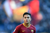 Justin Kluivert of AS Roma looks on during the Serie A 2018/2019 football match between AS Roma and UC Sampdoria at stadio Olimpico, Roma, November, 11, 2018 <br />  Foto Andrea Staccioli / Insidefoto