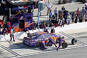 Monster Energy NASCAR Cup Series<br /> The Advance Auto Parts Clash<br /> Daytona International Speedway, Daytona Beach, FL USA<br /> Sunday 11 February 2018<br /> Denny Hamlin, Joe Gibbs Racing, FedEx Express Toyota Camry pit stop<br /> World Copyright: Russell LaBounty<br /> LAT Images