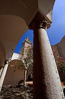 Italien, Capri, Kartäuserkloster Certosa San Giacomo in Ort Capri, Kreuzgang
