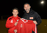 Ryan Giggs Albion Rovers FC Visit