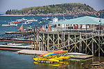 Waterfront views of Frenchman Bay in Bar Harbor, Downeast, ME