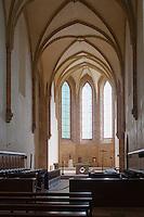 Europe/France/Midi-Pyrénées/12/Aveyron/Env d'Espalion/Le Cayrol:  Notre-Dame de Bonneval est une abbaye cistercienne