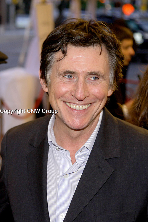 Gabriel Byrne on the red carpet at Roy Thompson Hall for the world premiere of Emotional Arithmetic, at the Toronto International Film Festival on September 15, 2007. (CNW Group/VISA Canada)