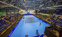 Rotterdam, Netherlands, December 17, 2017, Topsportcentrum, Ned. Loterij NK Tennis, Final man's single: overal view<br /> Photo: Tennisimages/Henk Koster