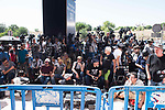 The press waiting during the testimony of Real Madrid's player Cristiano Ronaldo at Trial Court in Madrid, July 31, 2017. Spain.<br /> (ALTERPHOTOS/BorjaB.Hojas)