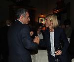 ALESSANDRO RUBEN E LAURA RAVETTO<br /> PREMIO GUIDO CARLI - QUARTA EDIZIONE<br /> RICEVIMENTO HOTEL MAJESTIC ROMA 2013