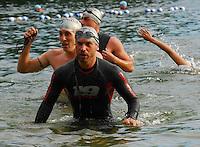 Triathlon - Silver Swim Caps - Badger State Games '08
