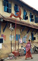 Indien, Cochin = Kochi (Kerala), kommunistisches Emblem